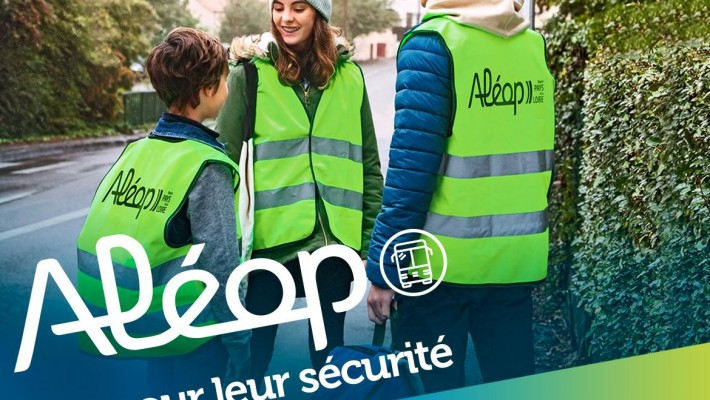 Aléop- Un gilet pour leur sécurité